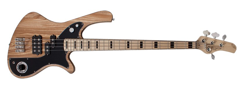 BassLine re:belle series natural elm custom bass modern vintage