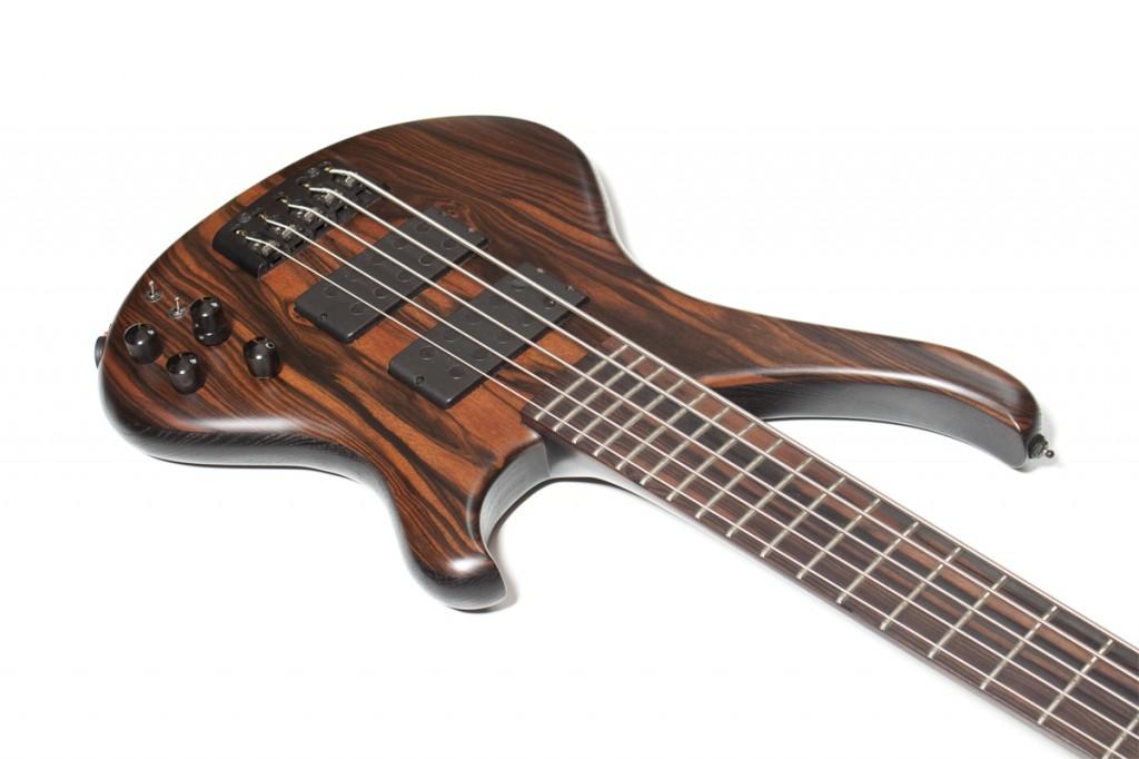 BassLine Buster Art 5 neckthrough body custom bass