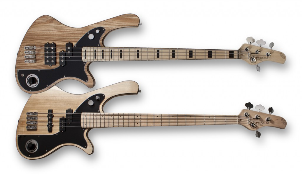 re:belle series - a modern vintage bass made in germany