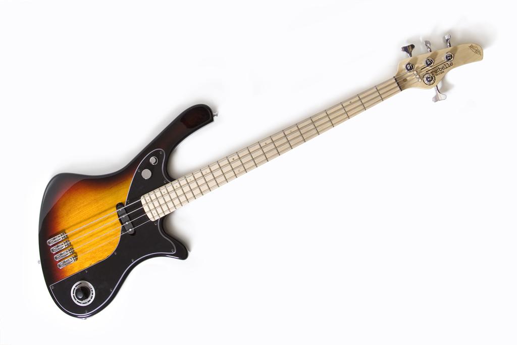 BassLine re:belle series modern vintage custom bass offset design made in germany