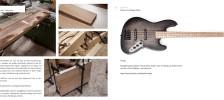Build Your Bass A J style Seymour Duncan Ash QuarterPounder