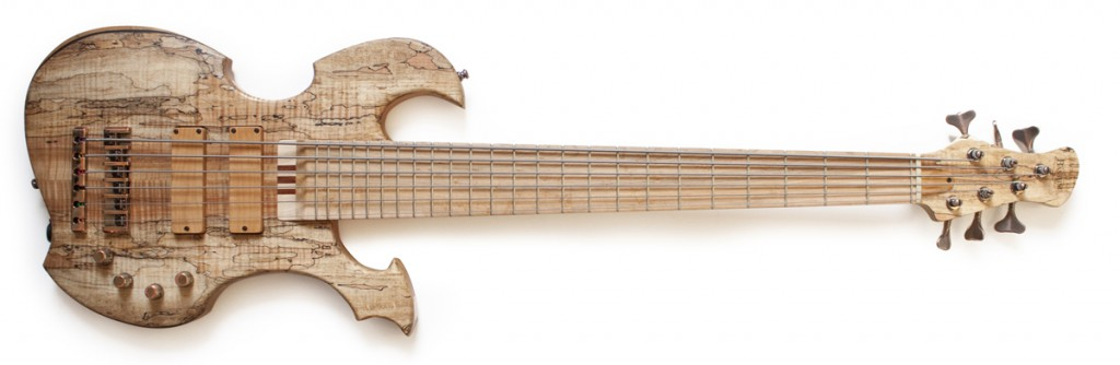 BassLine Basses Build Your Bass 36 custom shape metal