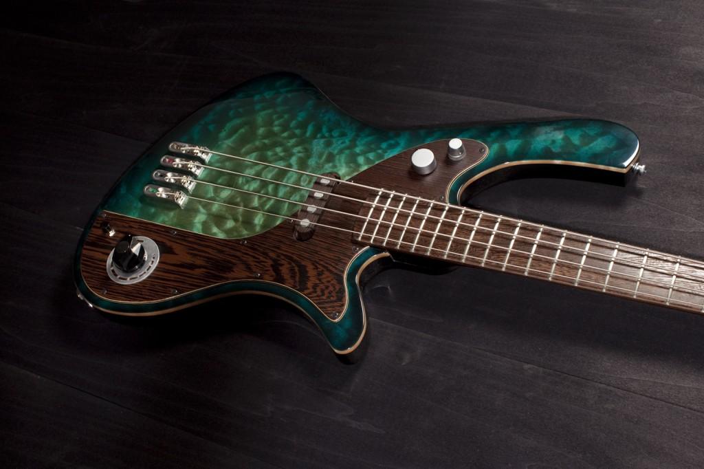 BassLine rebelle series lessmore cw custom offset modern vintage bass häussel pickups made in germany