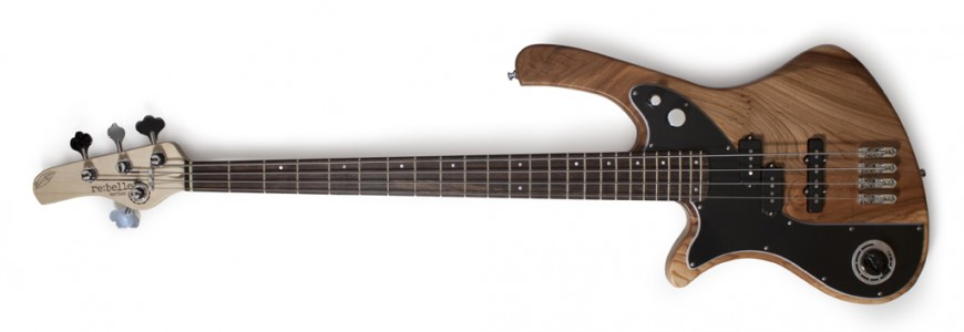 BassLine re:belle series 4 lefthand modern vintage custom bass made in germany