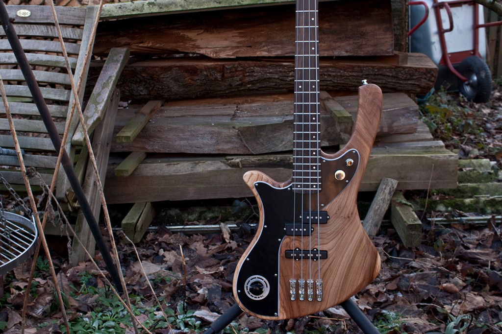 BassLine re:belle series 4 local wood modern vintage custom bass made in germany