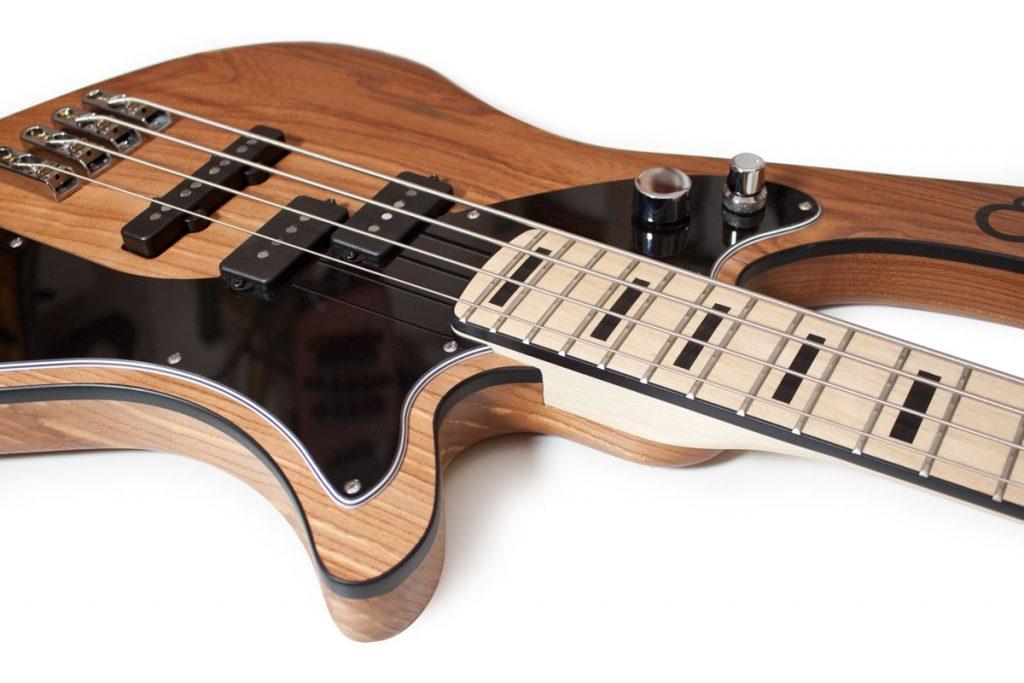 BassLine re:belle series natural custom bass made in germany offset modern vintage